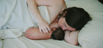 """Breastfeeding came easily with the guidance of my doula"""